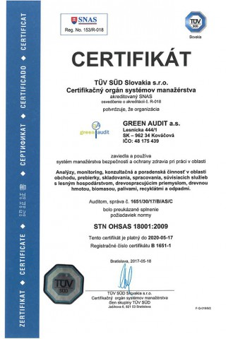 GREEN AUDIT ISO 18001