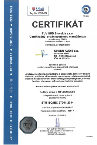 GREEN AUDIT ISO 27001
