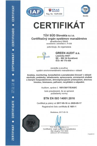 GREEN AUDIT ISO 14001